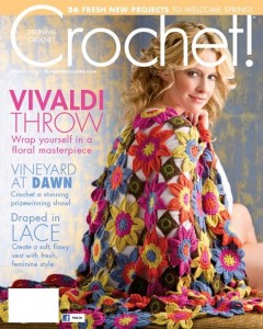 Cover Crochet! Magazine Spring 2013 Photo courtesy of Annie's