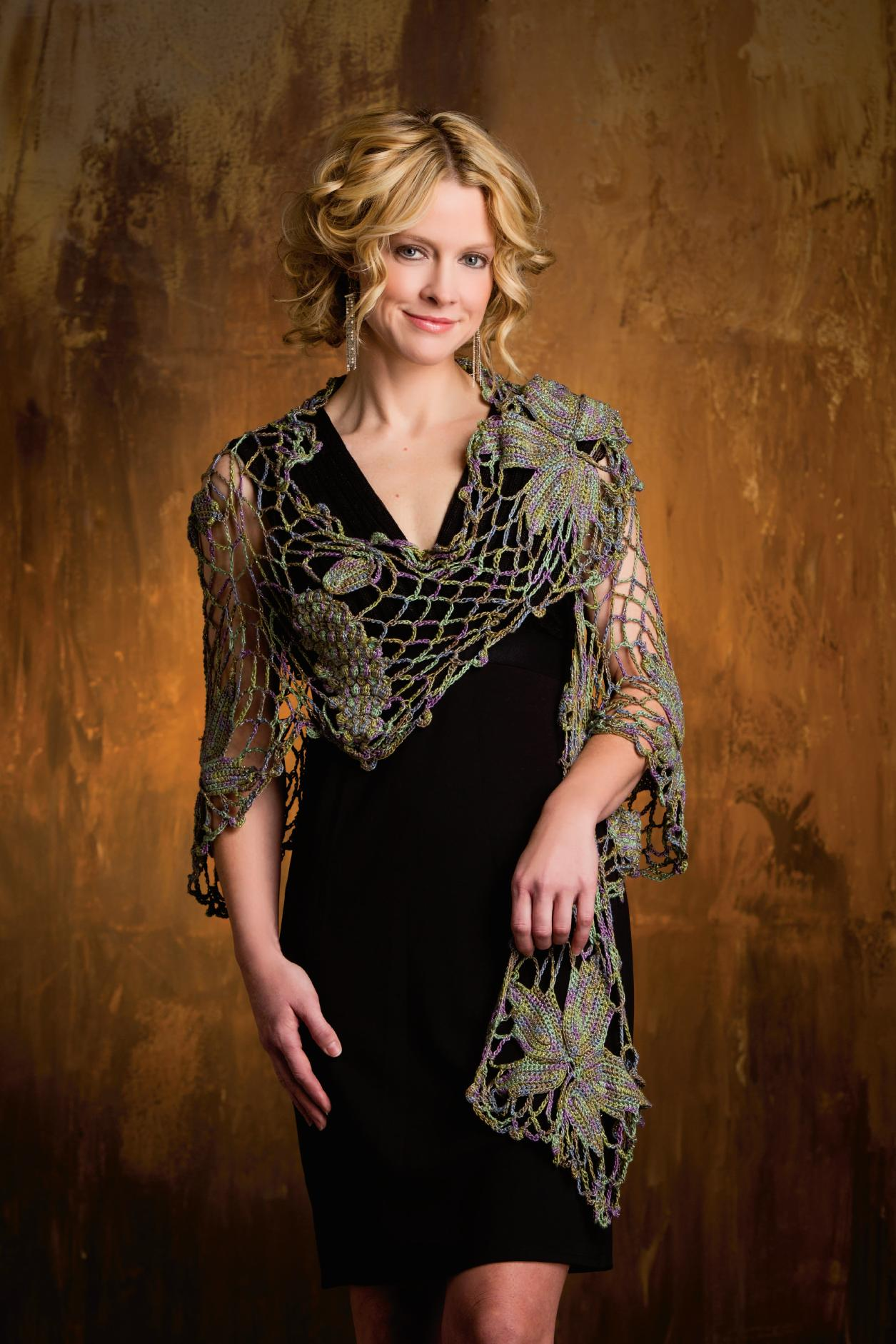 ... Shawl (front), Crochet! Magazine Spring 2013 Photo courtesy of Annies