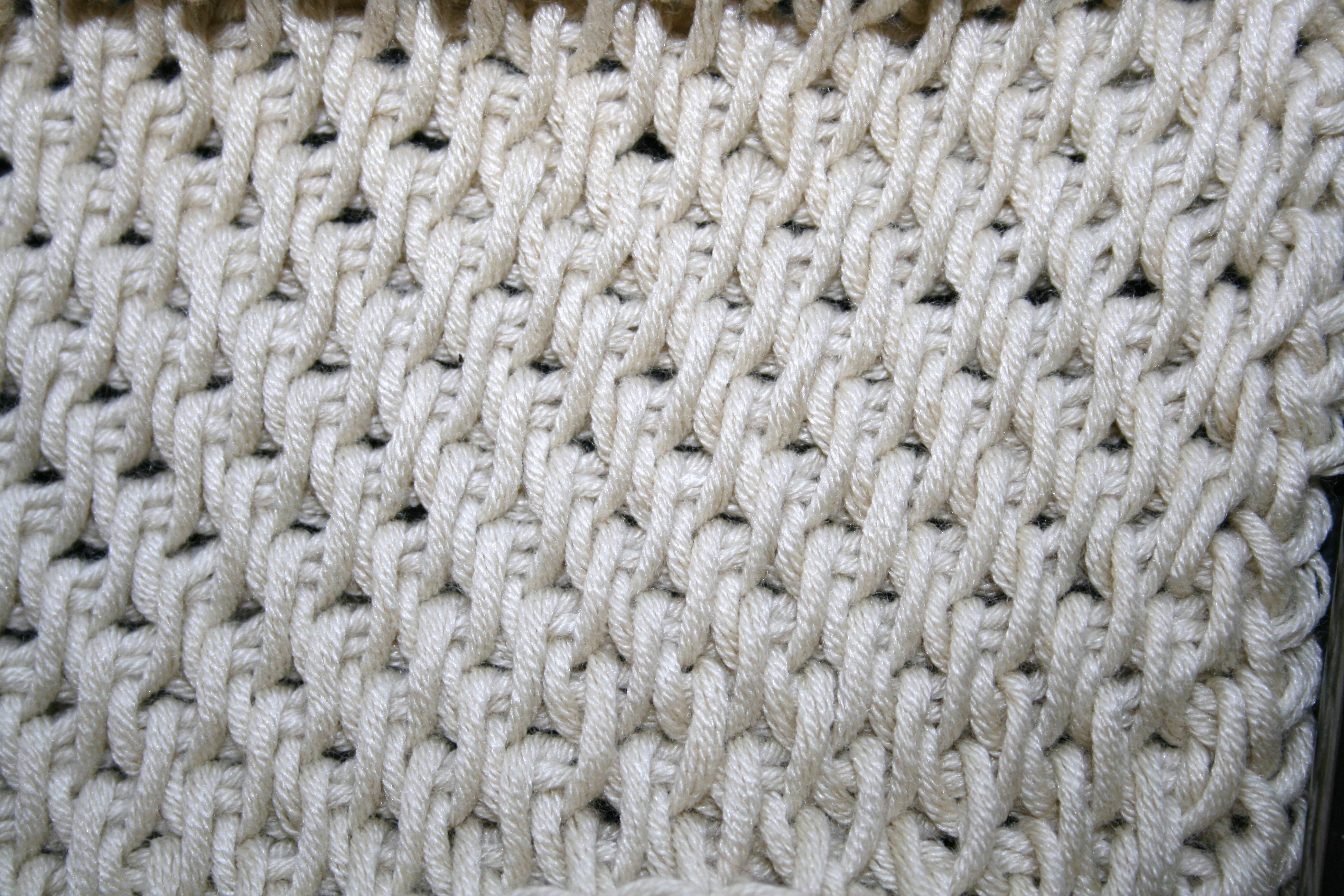 Crochet Stitches How To Do Them : Tunisian Full Stitch Linda Dean Crochet