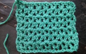 V Stitch Pattern for Crochet for a Difference