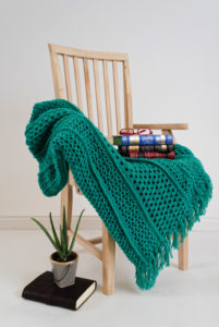 Book Club Afghan, I like Crochet, February 2017 www.lindadeancrochet.com