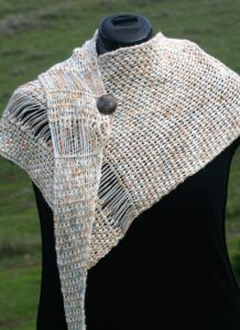 Interrupted Shawl, crochet version www.lindadeancrochet.com