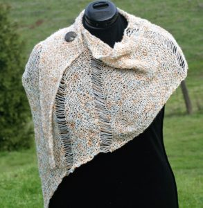 Interrupted Shawl, knit version wwww.lindadeancrochet.com