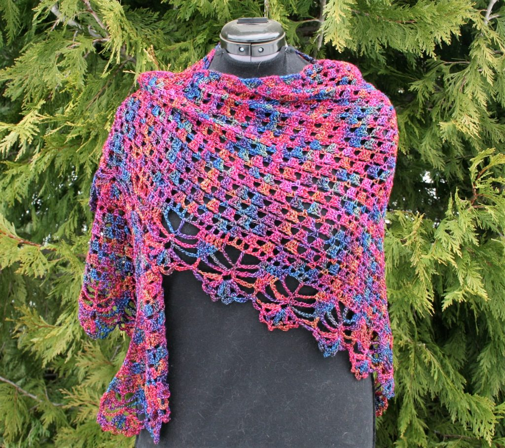 Quiet Night Wrap Free Pattern